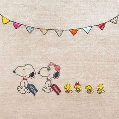 Cross Stitch Embroidery, Embroidery Patterns, Hand Embroidery, Snoopy Love, Snoopy And Woodstock, Snoopy Images, Snoopy Wallpaper, Beagle, Charlie Brown And Snoopy