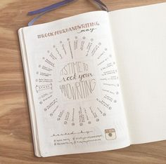 Bullet Journal - Rock your handwriting challenge