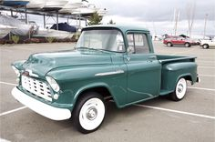 '56 Chevy 3100. Next project, Restoring a 50s truck.