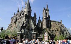 Castelo Harry Potter Disney Island of Adventure