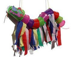 Een mooie chineese draak maken met eenvoudige materialen