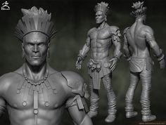 Picture Casey Jones, Tribal Warrior, Buddha, Batman, Statue, Superhero, Pictures, Fictional Characters, Art