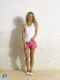 Russell Athletic Summer 2013 Ladies Collection #Russell #Athletic  #Russellbrands #Authentic #American #SportsWear #Apparel #Summer  #Collection #Sports #Wear #Sweatshirt #Womanswear Russell Athletic, Summer Collection, Sportswear, Short Dresses, Bra, American, Sweatshirts, Lady, How To Wear