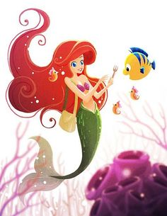 """""""Ariel's Wonder"""" will be available starting this Saturdaysday(Nov 15th) at Disney WonderGround Gallery. I will be at the gallery for the art release and signing from 11a-1p. Please stop by if you are in the area. For more info, please visit http://disneyparksmerchandise.com/events/artist-showcase-with-jasmine-becket-griffith-jeff-granito-sydney-hanson-and-jerrod-maruyama/?instance_id"""