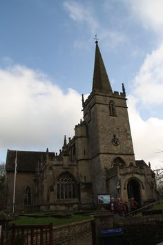 Lacock Village    The Church of St Cyriac, Lacock was established in the late 11th century.