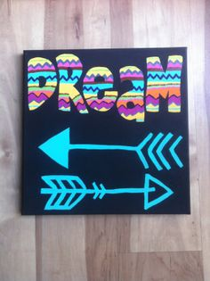 Tribal Dream Canvas by HowzeDesigns on Etsy, $15.00
