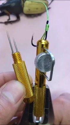 New Aluminum Alloy Fishing Line Hook Tier Double-headed Needle Knots Tie Fishing Line Knotter Fishhook Tie Device Accessories Fishing Rigs, Fishing Tools, Carp Fishing, Trout Fishing, Fishing Videos, Fishing Equipment, Fishing Tackle, Fishing Shirts, Bateau Rc