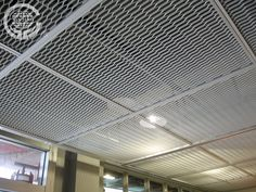 Aluminum stretched mesh ceiling/ metal hanging sheet