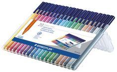 triplus color triangular fibre-tip pen, set of 20 picture