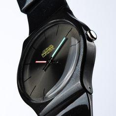Star Wars Watch Clocks Movie Lightsaber