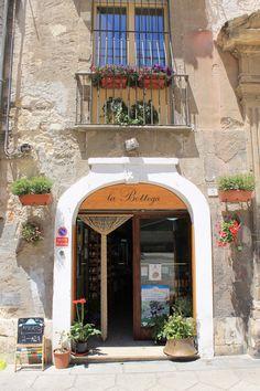 La Bottega - a wonderful specialty shop in the Castello Cagliari, full of the best produce Sardinia has to offer