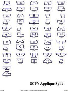 Applique Millie Embroidery Designs Fonts Monograms