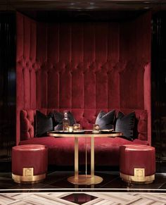 bar lounge banquette - From cozy options to modern looks, take a look at the best design projects selected by us today.