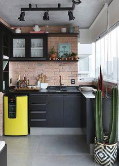 The Best 2019 Interior Design Trends - DIY Decoration Ideas Home Decor Kitchen, Kitchen Interior, Home Interior Design, Home Kitchens, Interior Decorating, Design Hall, Design Loft, House Design, Casa Loft