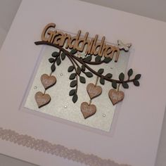Your place to buy and sell all things handmade Christmas Box Frames, Family Tree Frame, Holiday Outfits Women, New Grandparents, White Box Frame, Grandparent Gifts, Wooden Hearts, Baby Girl Gifts, Wooden Letters