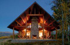 Прекрасный дом в Колорадо от компании Turnbull Griffin Haesloop Architects #Design #Architecture #Interier #House