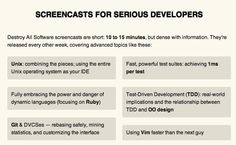 Destroy All Software Screencasts