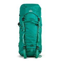 McKinley Trekking-Rucksack Yukon 45 + 10 Liter green: Amazon.de: Sport & Freizeit