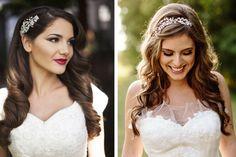 Peinado de novia con pelo suelto #bodas #elblogdemaríajosé #peinadonovia #pelosuelto #cabellosuelto