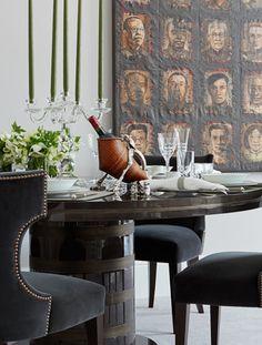 The Trendiest Materials For Your Home Decor In 2017   Home Decor. Design Furniture. Velvet. #homedecor #interiordesign #velvet Find more inspiration at: https://www.brabbu.com/en/inspiration-and-ideas/materials/trendiest-materials-home-decor-2017