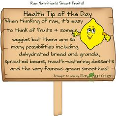 Raw diet tip of the day!