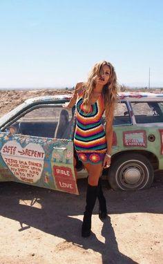 hippie style 487866572134102869 - crochet colorful hippie style dress gigi hadid Source by Boho Gypsy, Boho Hippie, Bohemian Mode, Gypsy Style, Bohemian Style, My Style, Bohemian Dresses, Bohemian Lifestyle, Hippie Life