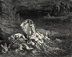 paul gustave dore paintings | Gustave Dore Dante's Inferno