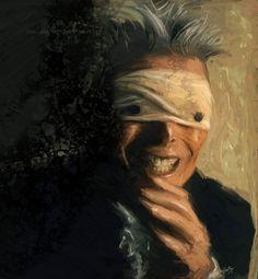 Blackstar - David Bowie by Lucival