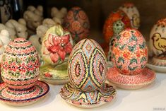 Easter is coming - greetings by Polish pottery :)