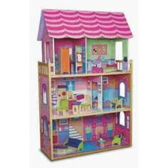 Kidkraft Fashion wooden doll house, Barbie Compatible