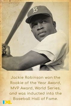 #OnThisDay in 1947, Jackie Robinson played his first game with the Brooklyn Dodgers! Learn more in this IXL skill. #TBT 3rd Grade Social Studies, Jackie Robinson, Black History Facts, Study Skills, Throwback Thursday, Dodgers, Grammar, Brooklyn, Fun Facts