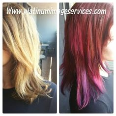 Best Hair color Pink, Platinum Image Services, Los Angeles, California.,United States - Yelp