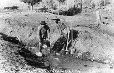 Gold Panning ~ Cripple Creek Colorado ~ 1890 #COHistory