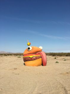 Fortnite's Durr Burger was found in the middle of a California desert