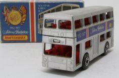 Matchbox/Lesney 17f; The Londoner Daimler Bus; Silver Jubilee 1952-1977, Boxed - http://www.matchbox-lesney.com/?p=9288