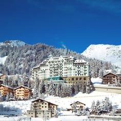 Carlton Hotel at St. Moritz, Switzerland - Member of Tschuggen Hotel Group #5starsuperior