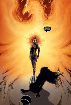 Emma Frost vs Jean Grey