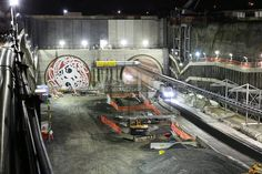 The Facebook page for Alice the Tunnel Boring Machine has all the latest updates on Auckland's Waterview Connection tunnels project, including photos and videos of the work going on deep underground.