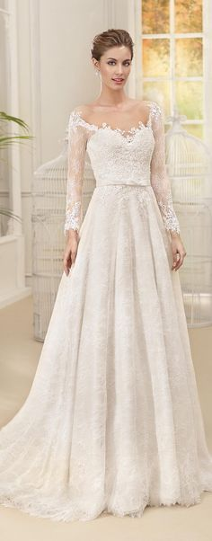 Wedding Dresses by Fara Sposa 2017 Bridal Collection! These are some feminine and stunning bridal gowns you will want to pin pronto.