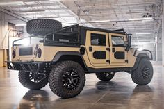 Mil-Spec has just completed their second four-door hardtop the Launch Edition Five different body styles are available — a pickup, slantback, wagon, and. Hummer H1, Hummer Truck, Big Ford Trucks, Cool Trucks, Tacoma Truck, Armored Truck, Custom Jeep, Jeep Pickup, Expedition Vehicle