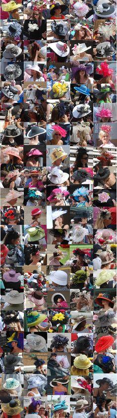 100 Kentucky Derby Hats