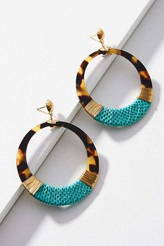 Gas Bijoux Ocatagon Earrings FbGsh