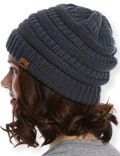 50179f3de9c Details about Tough Headwear Cable Knit Beanie - Thick