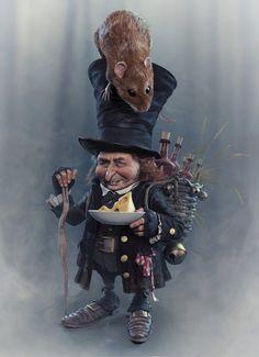 Little Mice Master by Seid Tursic, via Behance