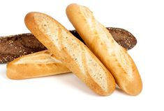 """Buy the royalty-free Stock image """"French baguette"""" online ✓ All image rights included ✓ High resolution picture for print, web & Social Media French Baguette, Pan Bread, Sweet Potato, Food And Drink, Potatoes, Healthy Recipes, Homemade, Fruit, Vegetables"""