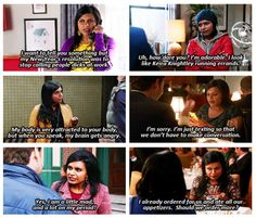 Mindy Kaling as Mindy Lahiri - The Mindy Project