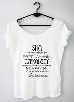 Time For Fashion Jutro / t-shirt biały T Shirty, Funny Outfits, Girls Life, Diy Shirt, Silk Flowers, Cool T Shirts, Printed Shirts, Funny Tshirts, Style Inspiration