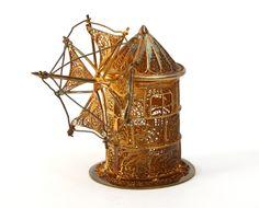 Portuguese filigrana windmill