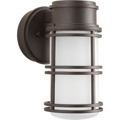 Bell Collection 1-light Antique Bronze LED Wall Lantern