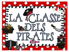 INFANTILCASTELL Pirates, Note Cards, Classroom, Drawings
